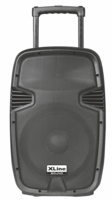 XLine NPS-12A Активная аккумуляторная акустическая система с USB/SD/Bluetooth/FM