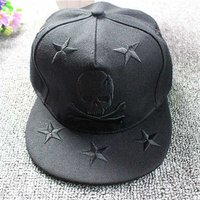 GooD кепка Череп со звёздами (78-005)