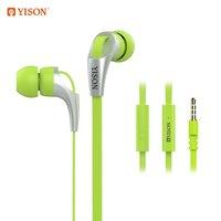 Yison CX330 green Наушники с микрофоном