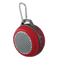 """Колонка-Bluetooth Perfeo """"SOLO"""" FM, MP3 microSD, AUX, мощность 5Вт, 600mAh, красная"""